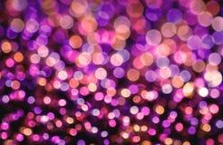 Purpurowy defocused tło Zdjęcie Royalty Free