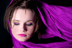 purpurowy deszcz Zdjęcie Royalty Free