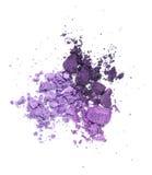 Purpurowy eyeshadow Zdjęcie Stock