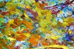 Purpurowy fiołkowy jaskrawy rocznik bryzga, kolorowi żywi woskowaci kolory, kontrasta kreatywnie tło Obraz Stock