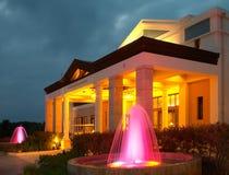purpurowy fontann Fotografia Stock
