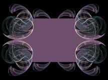Purpurowy Fractal tło obrazy stock