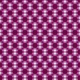 Purpurowy geometryczny bezszwowy wzór obraz stock