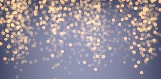 Purpurowy i złoty świecący tło ilustracja wektor