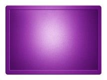 Purpurowy Kruszcowy talerz Obraz Royalty Free
