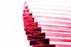 Purpurowy Krystaliczny schody Fotografia Royalty Free