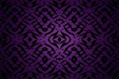 Purpurowy plemienny kształta wzór Obraz Royalty Free