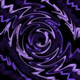 Purpurowy słabnięcie w zmroku Zdjęcie Royalty Free
