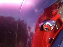 Purpurowy samochód fotografia royalty free