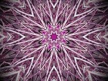 Purpurowy starburst tło Zdjęcia Royalty Free