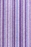 Purpurowy stripey dywan zdjęcia stock
