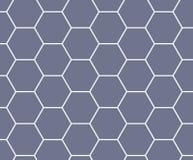 purpurowy sześciokąta honeycomb wzoru tło royalty ilustracja