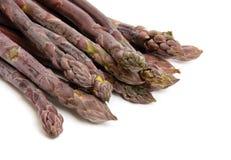 purpurowy szparagów obrazy stock
