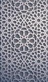 Purpurowy tło Islamski ornamentu wektor, perski motiff 3d Ramadan round wzoru islamscy elementy geometryczny Obraz Royalty Free