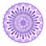 Purpurowy tajemnicy mandala Obrazy Stock