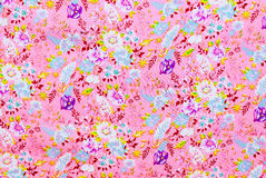 Purpurowych i Białych kwiatów Background/tekstura Obraz Royalty Free