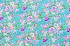 Purpurowych i Białych kwiatów Background/tekstura Zdjęcie Royalty Free