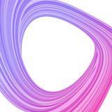 Purpurrote Abstraktion auf Weiß Stockbild