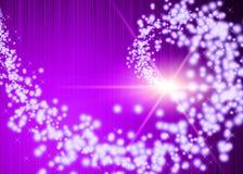 Purpurrote Fantasie Stockbild