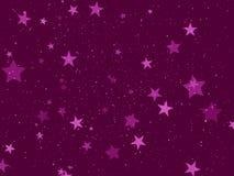 Purpurrote Feiertagsabdeckung Stockfoto