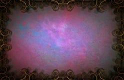 Purpurrote Kunstanschläge lizenzfreie stockbilder