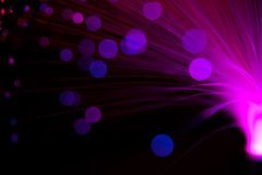 Purpurrote Leuchten lizenzfreies stockbild