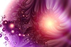 Purpurrote Luftblasen Lizenzfreie Stockbilder