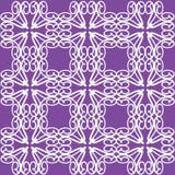 Purpurrote Muster-Spitze-Muster-Abbildung lizenzfreie stockbilder