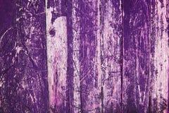 Purpurrote Plankenwand Lizenzfreies Stockfoto