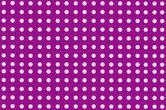 Purpurrote Punkte Stockbild