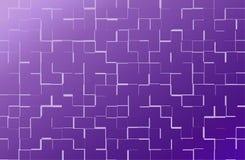 Purpurrote Quadrate auf einem hellen Hintergrund Stockfotografie