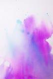 Purpurrote rosa Aquarellbeschaffenheit Stockfoto