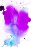 Purpurrote rosa Aquarellbeschaffenheit Lizenzfreie Stockfotografie