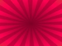 Purpurrote Strahlen stock abbildung
