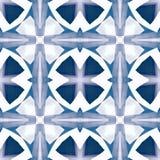Purpurrote weiße abstrakte Beschaffenheit Ausführliche Hintergrundillustration Nahtloses Fliesenmuster des Textildruckes Hauptdek Stockbild