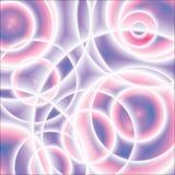 Purpurrote Zusammenfassung kreist Hintergrund ein vektor abbildung