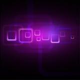 Purpurroter abstrakter Hintergrund Stockbilder