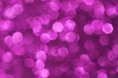 Purpurroter abstrakter Hintergrund der weichen Lichter Lizenzfreie Stockbilder