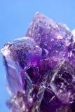 Purpurroter Amethyst Stockbild