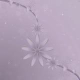 Purpurroter Blumen-Rebe-Hintergrund Lizenzfreies Stockfoto