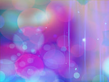Purpurroter bokeh Zusammenfassungs-Lichthintergrund Lizenzfreie Stockfotografie