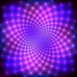 Purpurroter Discohintergrund Stockbild