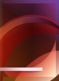 Purpurroter flayer Entwurf Stockbilder