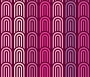 Purpurroter geometrischer Hintergrund Lizenzfreie Stockfotos