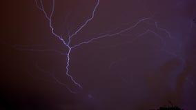 Purpurroter Himmel lizenzfreie stockfotografie