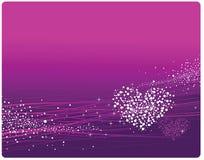 Purpurroter Hintergrund Stockfotografie