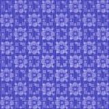 Purpurroter Hintergrund mit weißen Blumen stock abbildung