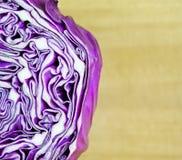 Purpurroter Kohl lizenzfreies stockbild