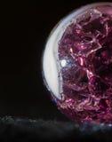 Purpurroter Marmor 9 Stockfotografie