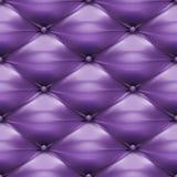 Purpurroter Polsterungsleder-Musterhintergrund lizenzfreie abbildung